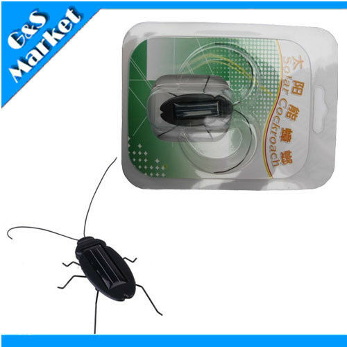 1 pcs Solar Power Educational Energy Cockroach Insect Kid Toy Fun Gadget Cute Toys