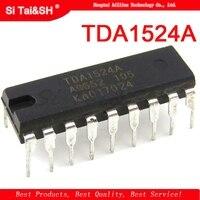 1 stücke TDA1524A DIP18 TDA1524 DIP 18 1524A DIP|Integrierte Schaltkreise|Elektronische Bauelemente und Systeme -