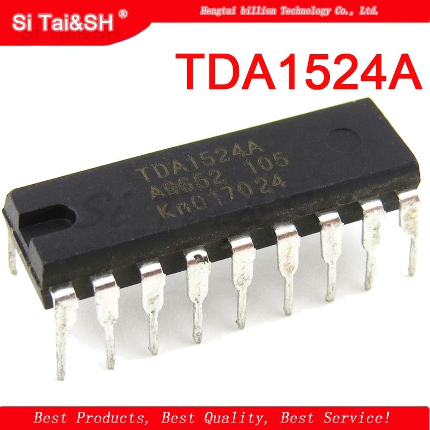 10 pcs TDA1524A DIP18 TDA1524 DIP-18 1524A DIP10 pcs TDA1524A DIP18 TDA1524 DIP-18 1524A DIP