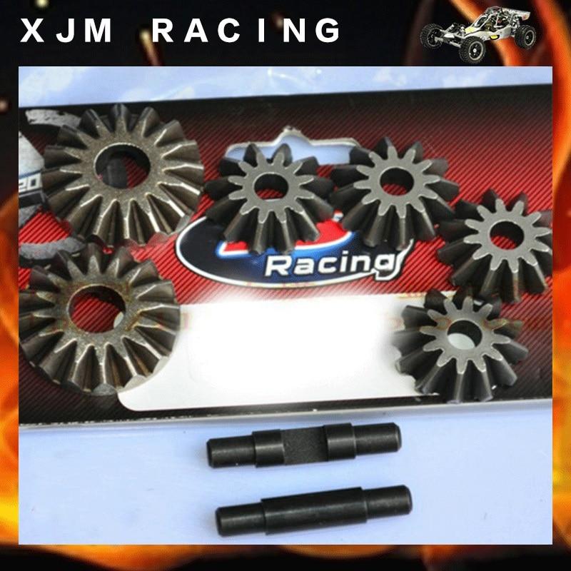 Metal diff gear set for 1/5 FS RACING rc car parts jx pdi 5521mg 20kg high torque metal gear digital servo for rc model