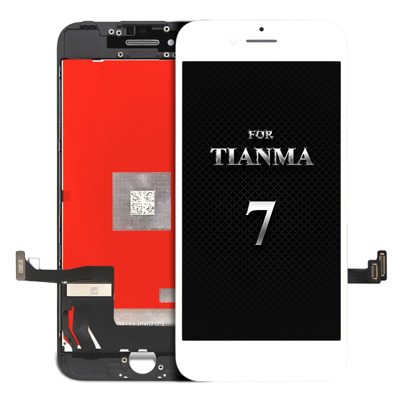 For tianma quality 10pcs For iPhone 7 LCD Display Replacement Ecran for mobile phone LCD With 3D Touch Screen Digitizer Assembly