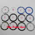 New arrive Multi-color 38mm Parnis high quality ceramic bezel for men's watches B7