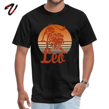 Hot Sale LEO Casual Tshirt Lion Print Men T-shirt Crew Neck Mad Max Mens T Shirt Short Sleeve Terror Summer Casual Tops & Tees casual short sleeve round neck lion print t shirt for women