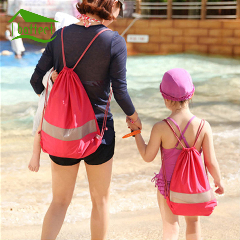 Baffect Outdoor Beach Gym Swimming Clothing Shoes Towel Storage Bag with Sealed Bag Drawstring Backpack Organizer