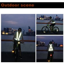 Breathable Traffic Night Work Security Running Cycling Safety Reflective Vest High Visibility Jacket