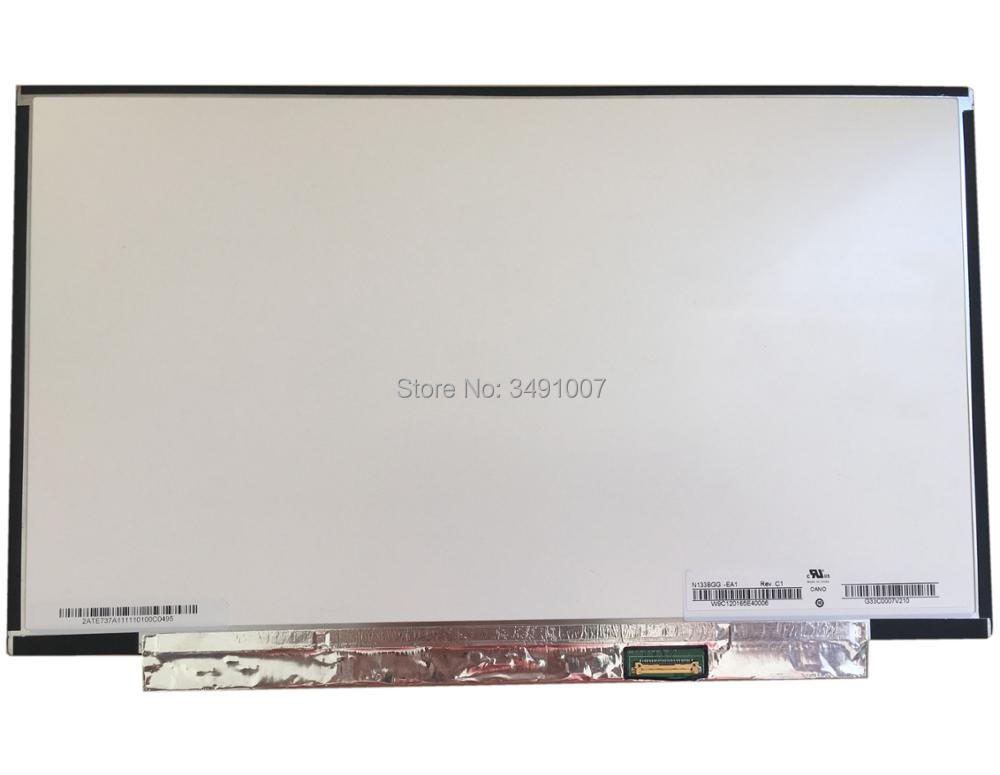 N133BGG-EA1 N133BGE-EAA fit N133BGE-EB1 LED LCD Screen <font><b>13.3</b></font> eDP WXGA <font><b>Display</b></font> NEW image