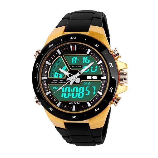 f768e7d9d3f Novos relógios esportivos masculinos Quartz LED elegante casual relógio  Digital relógios horas tempo Moda Luz militar corrida relógios de pulso  femininos em ...