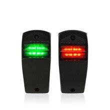 12 V LED אדום ירוק הימי סירת יאכטה ניווט אור שיט אות מנורת סירת אביזרי הימי