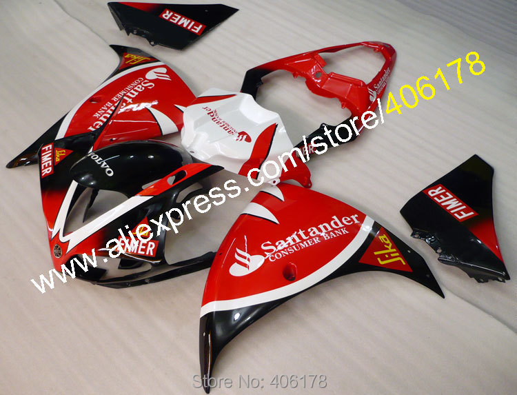 Горячие продаж,для YAMAHA 2009 2010 2011 и YZF-R1 в YZFR1 09 10 11 YZF Р1 YZFR1000 кузов мотоцикл обтекатели (литье под давлением)