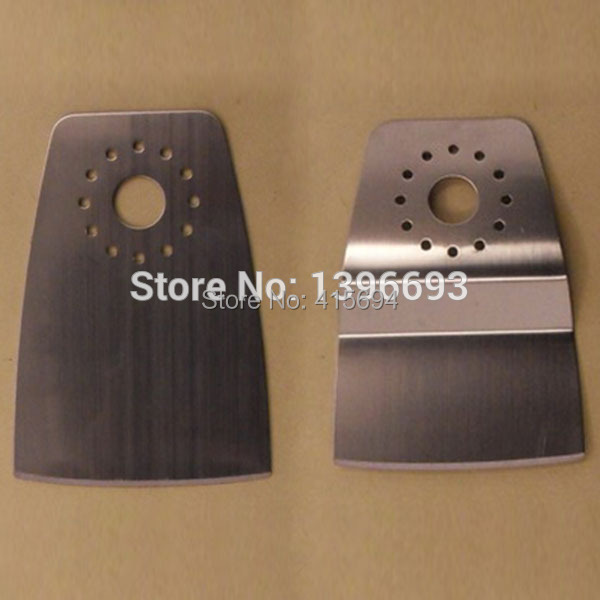 6pcs / set set di lame multiuso per lama oscillante HSS per raschietto HSS. Per raschiare pareti e tappeti.