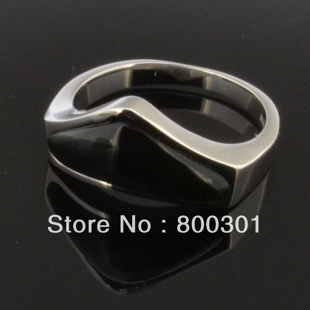 casual new big gold the amp day rings black simple for men wedding