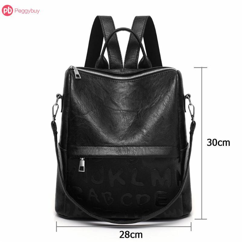 0b6560689da5 купить черный рюкзак, Винтаж Для женщин рюкзак дизайнер PU кожаные ...