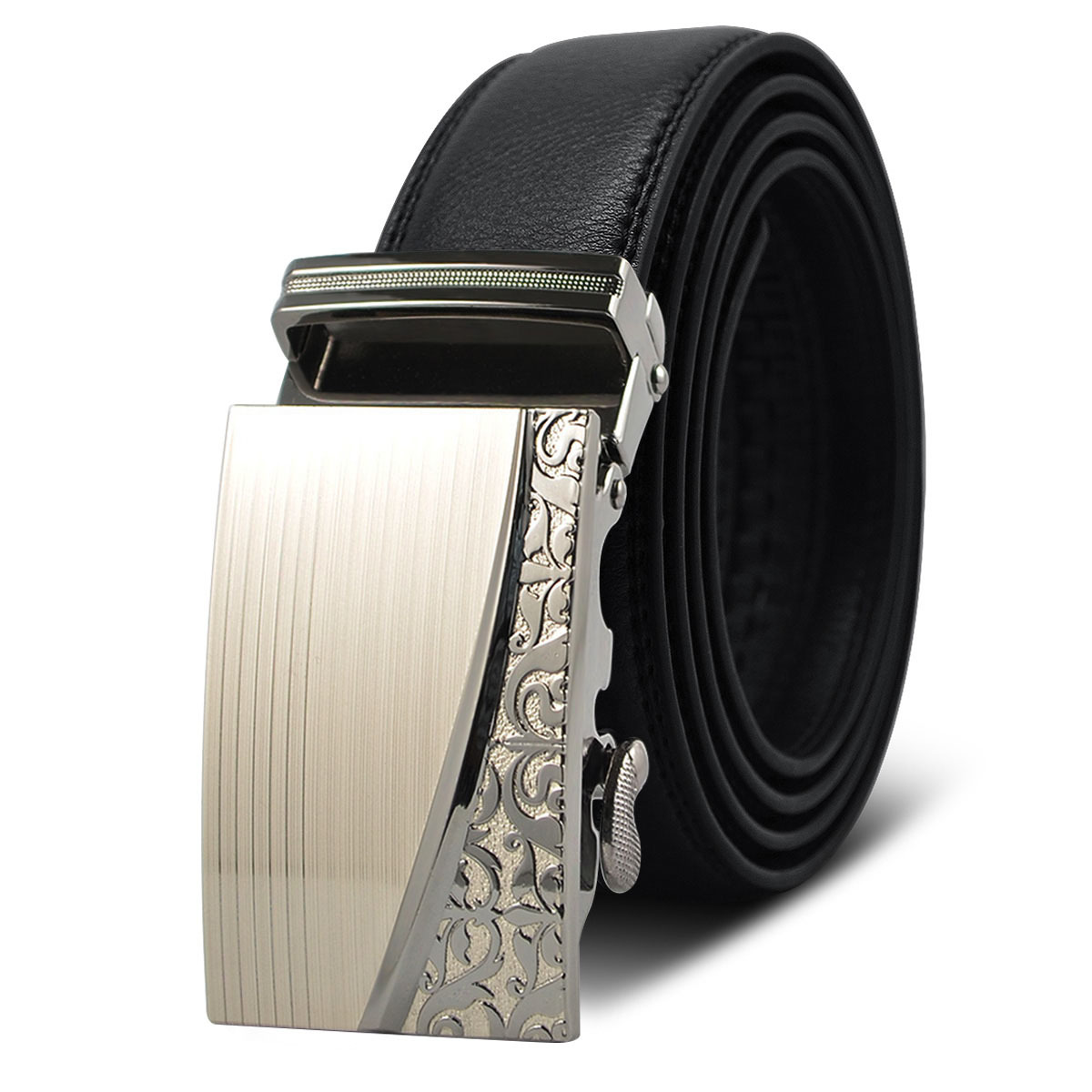 <font><b>Belts</b></font> Men <font><b>Belt</b></font> Genuine Leather For Jeans Girdle Cowskin 2019 New Cinturones De Hombres High Quality Reversible Designer Casual image