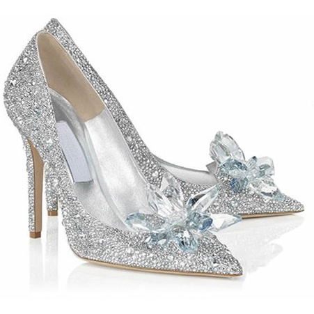 Popular Prom Silver Heels-Buy Cheap Prom Silver Heels lots from ...