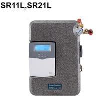 SR11L/SR21L серии Солнечная горячей водяной насос станция с интегрированной контроллер SR258 Max. допустимое давление 6 бар 1-20L/мин потока