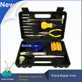 15pcs/lot Watch repair tools kit,Watch strap Link Pin removal and watch case opener tools for watchmakers and hobbyist