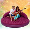191cm diameter circular inflatable air sofa bed chairs adult sex furnitures love making chair beds furnitures for couples games