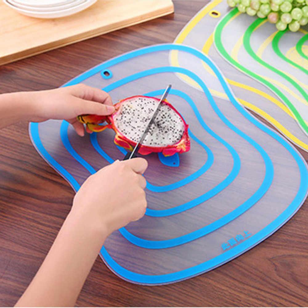 Placa de cozinha para cortar Gordura Matagal Categoria Painel Placa De Corte Não-slip de Frutas Esfregando Cozinha 3 tamanhos esteira de corte criativo