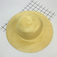 Sun Hat Summer Hats For Women Men Unisex Straw Beach Panama Hat Femme Homme Travel Vacation Seaside New AB034