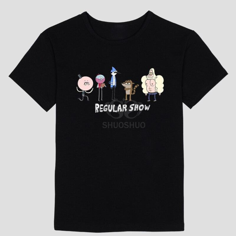 Регулярно показывают новый шаблон прохладный летний стиль аниме тема Для мужчин футболка с короткими рукавами