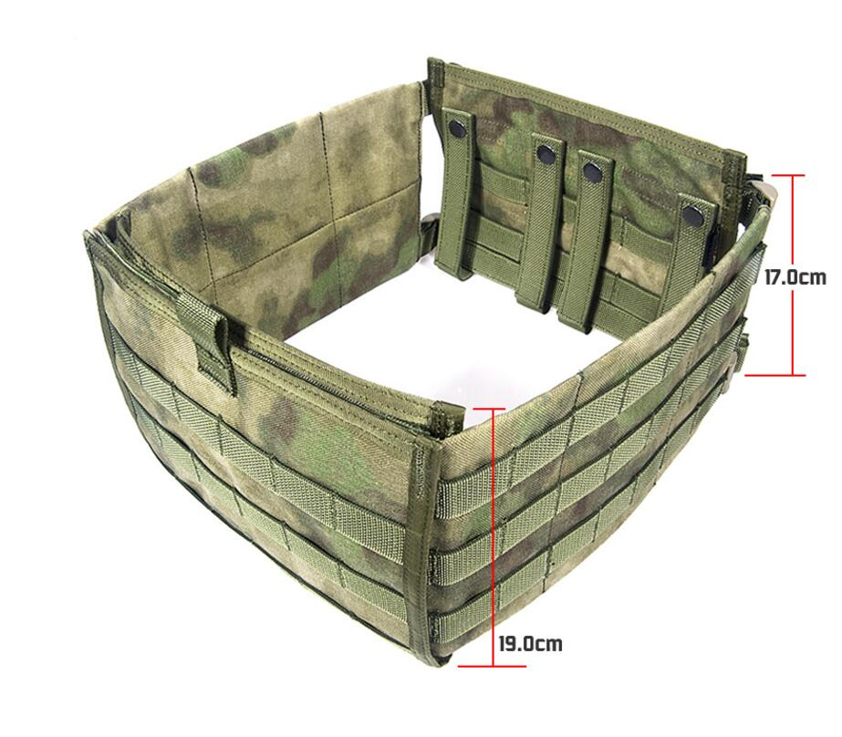 лучшая цена FLYYE MOLLE FAPC Additional mobile plate carrie Tactical Vest Surround Military Tactical Vest VT-M014