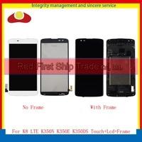 High Quality 5 0 For LG K8 LTE K350N K350E K350DS Lcd Display Touch Screen Digitizer