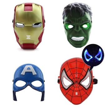 Avengers Maska na karneval – rôzne varianty