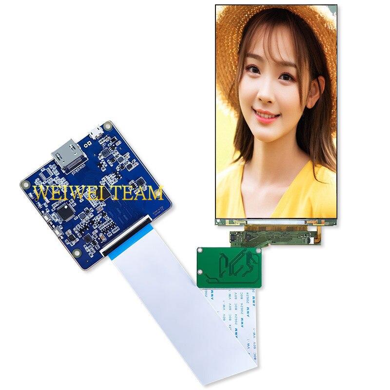 5,5 дюймов 4k ЖК-экран 3840*2160 панель ЖК-дисплей с Hdmi к Mipi для VR и Hmd 3D принтер Проектор diy проект