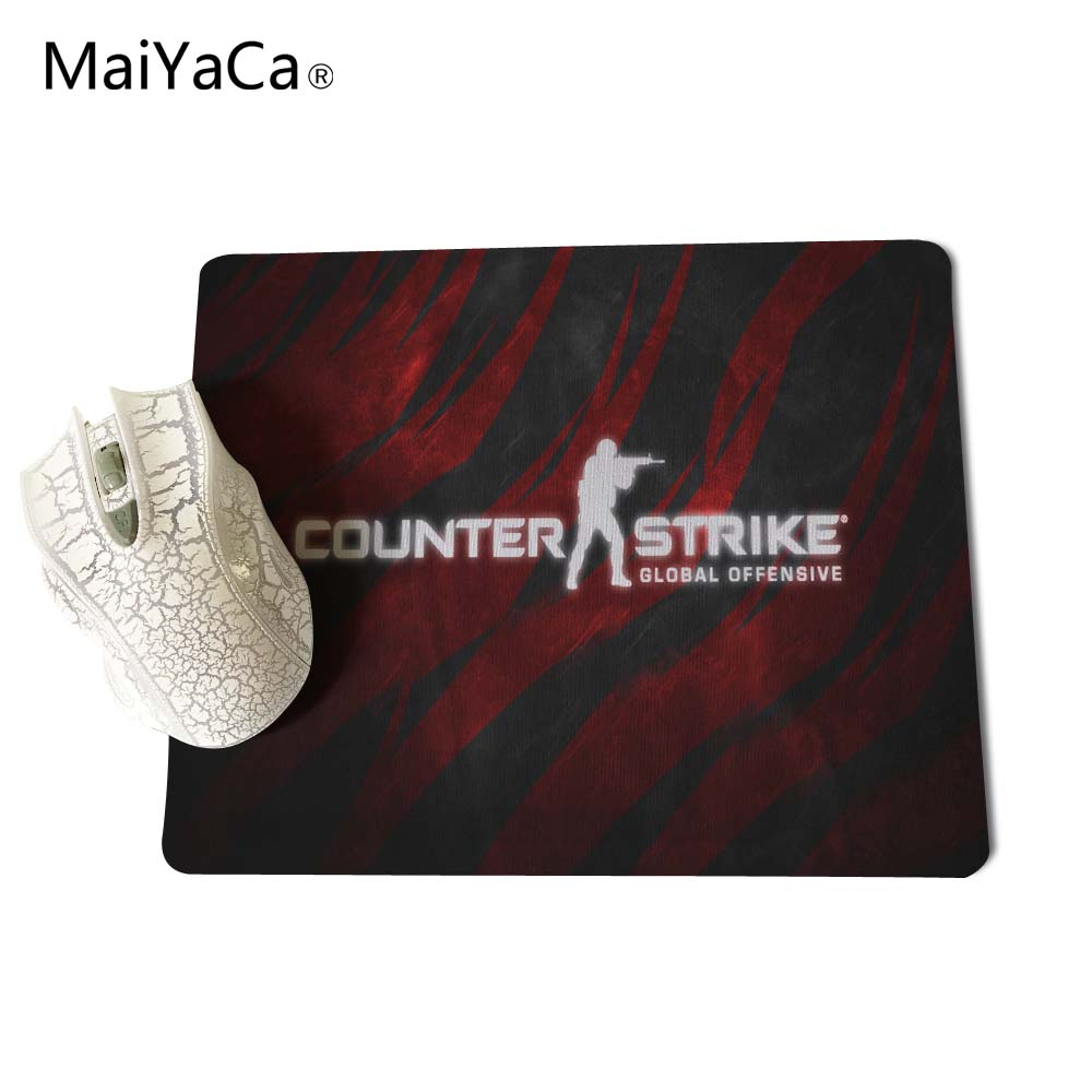 Counter Strike Global Offensive Wallpaper Gaming Rectangle Silicon Durable Mouse Pad Computer Mouse Mat