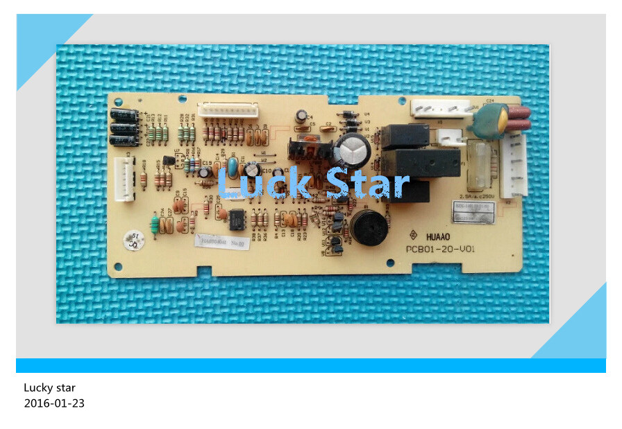 95% new for Rongsheng refrigerator computer board circuit board BCD-172AY PCB01-20-V01 PCB01-20-V02 BDG23-95 board good working 95% new used for refrigerator computer board h001cu002