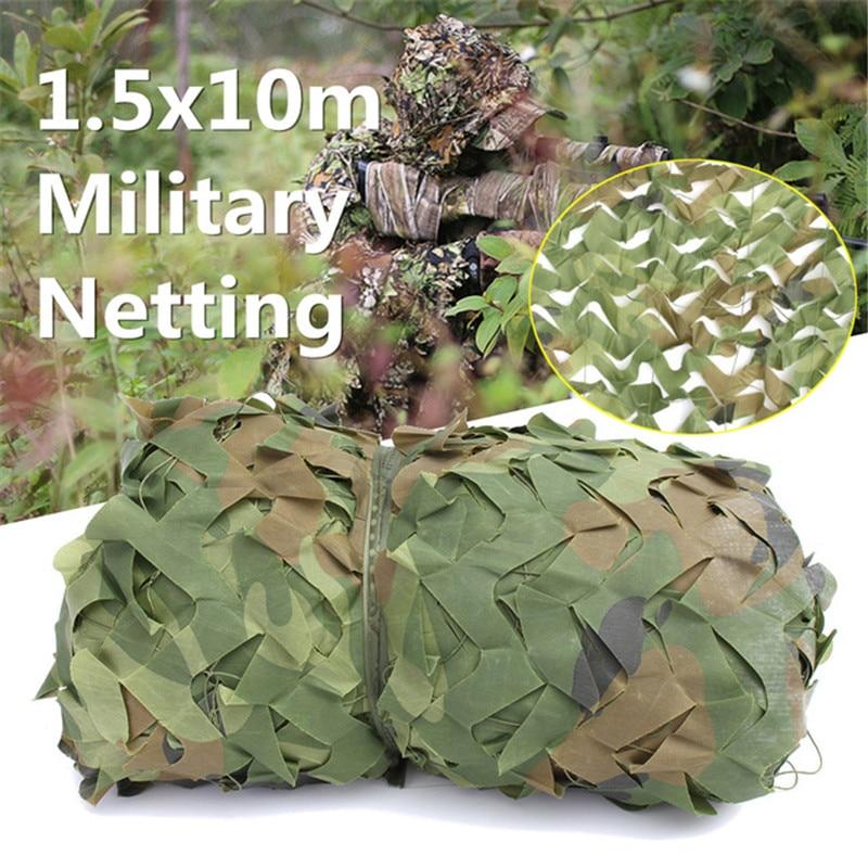 Militaire filet de Camouflage Camping En Plein Air CS Jeux Cacher Maille Filet Plage Soleil Abri bâche de voiture Camouflage Filets Ont 10 Tailles