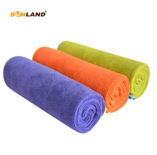Sinland Multi-purpose Microfiber Fast Drying Travel Gym Towels 3-pack 16 Inch X 32