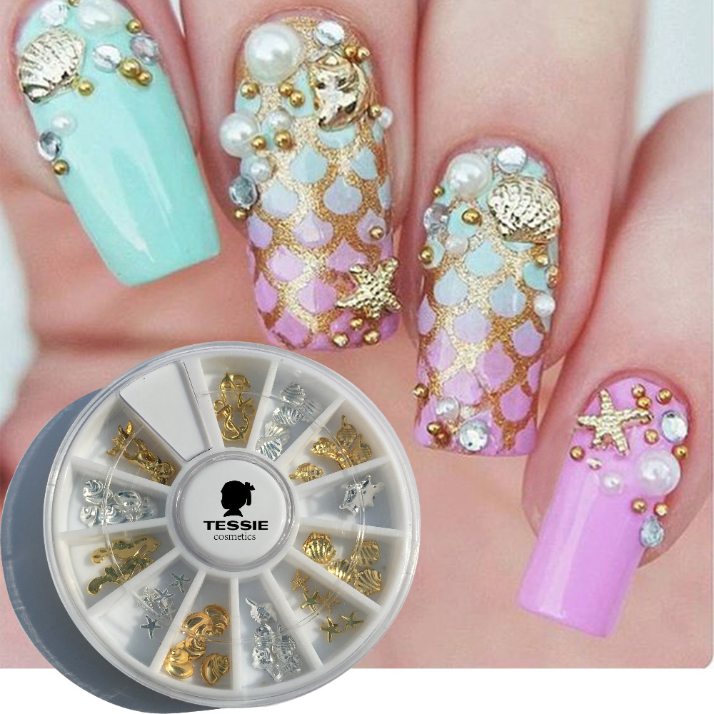 Nail art accessories. Turn your nails into your own works of art by using nail art accessories. These nail accessories include different types of flair such as nail art stencils, stickers and nail art pens. For a little extra sparkle, you can even add rhinestones to your nail art.