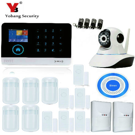 YobangSecurity Android IOS APP 3G WCDMA Wifi RFID Home Burglar Alarm Security System Wireless Siren Outdoor Video IP Camera yobangsecurity touch keypad gsm gprs rfid wireless wifi home burglar security alarm system android ios app wireless siren page 8