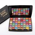Nueva Llegada Delicado Húmeda Sombra de Ojos Profesional 48 Colores 3D Glitter Color Shimmer Mate Paleta de Sombra de ojos Belleza Set de Maquillaje