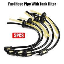 5 шт. фильтр для масляной трубы цепная пила аксессуары для газонокосилки триммер для травы фильтр для топливного бака универсальная масляная труба Fuelhose для 139/140/GX35