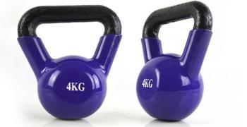 1pcs 4kg Dumbbell Kettlebell men s women s kettle dumbbells ball fitness equipment sports iron classic