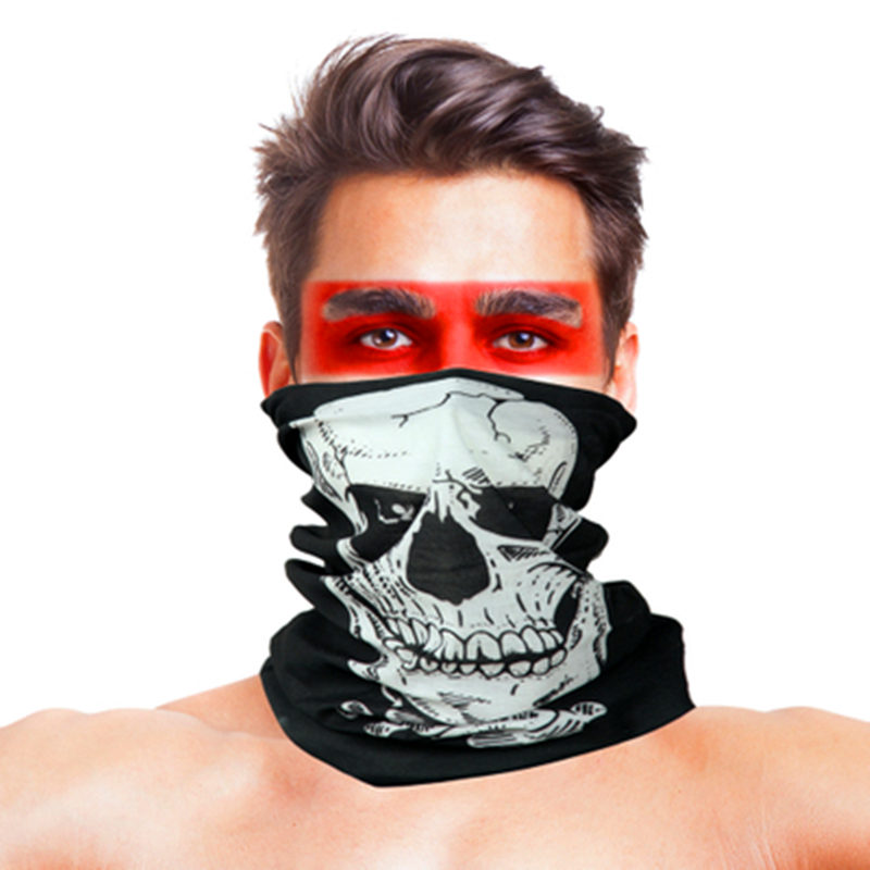 3D Geometric Design Cycling Bandanas Headwear Multifunctional Magic Head Scarf Outdoor Sport Face Shield Mask Buffe Summer Baff