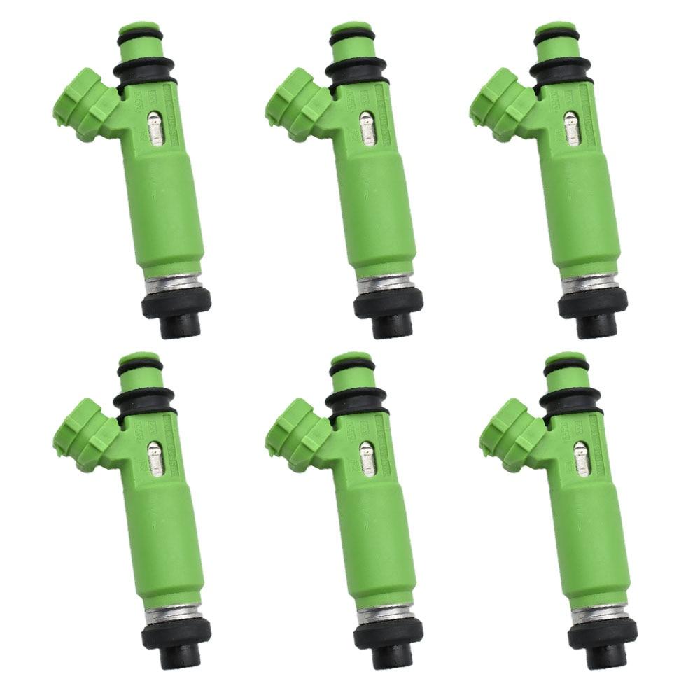 6pcs/lot 100% new original Fuel Injectors OEM 195500-3170 1955003170 MD332733 for Mitsubishi Montero Sport 3.0L 6G72 1998-20036pcs/lot 100% new original Fuel Injectors OEM 195500-3170 1955003170 MD332733 for Mitsubishi Montero Sport 3.0L 6G72 1998-2003