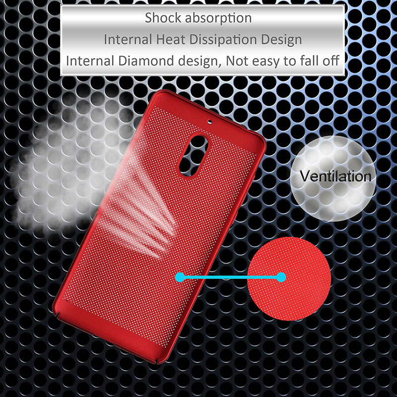 KSQ For Nokia 6 case 2017 hard plastic cover case coque phone fundas for Nokia6 5.5 Nokia 6 Android 7 Radiating Hol back case