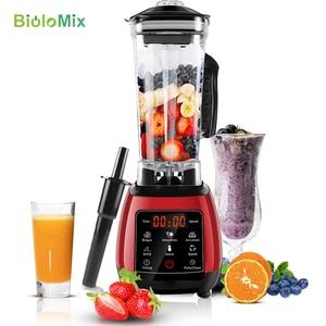 Image 2 - Цифровой 3HP BPA FREE 2L автоматический тачпад профессиональный блендер, миксер, соковыжималка высокой мощности, Кухонный комбайн, лед, смузи, фрукты