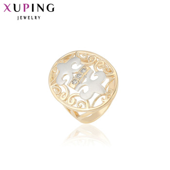 Xuping Fashion Ring Synthetic Cubic Zirconia European Style Top Quality Brand Jewelry Gift Women 12308