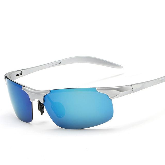 2016 de design da marca óculos de sol dos homens de condução óculos polarizados óculos de sol sports coating óculos de sol google óculos piloto eyewear bj8177