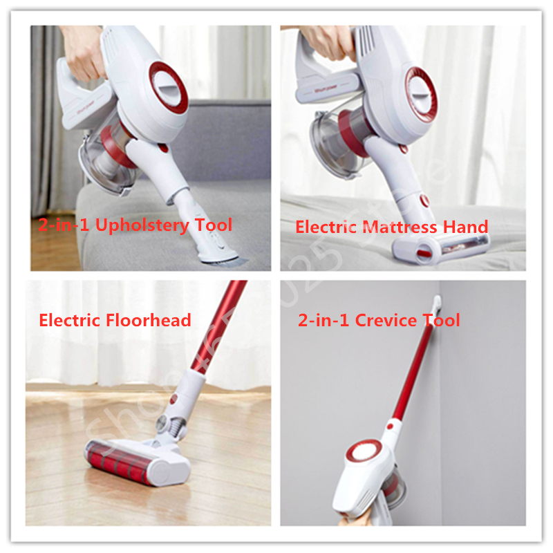 International version Xiaomi LEXY JIMMY JV51 Wireless Handheld Vacuum Cleaner Remove mites Strong Suction Low Noise EU/RU stock