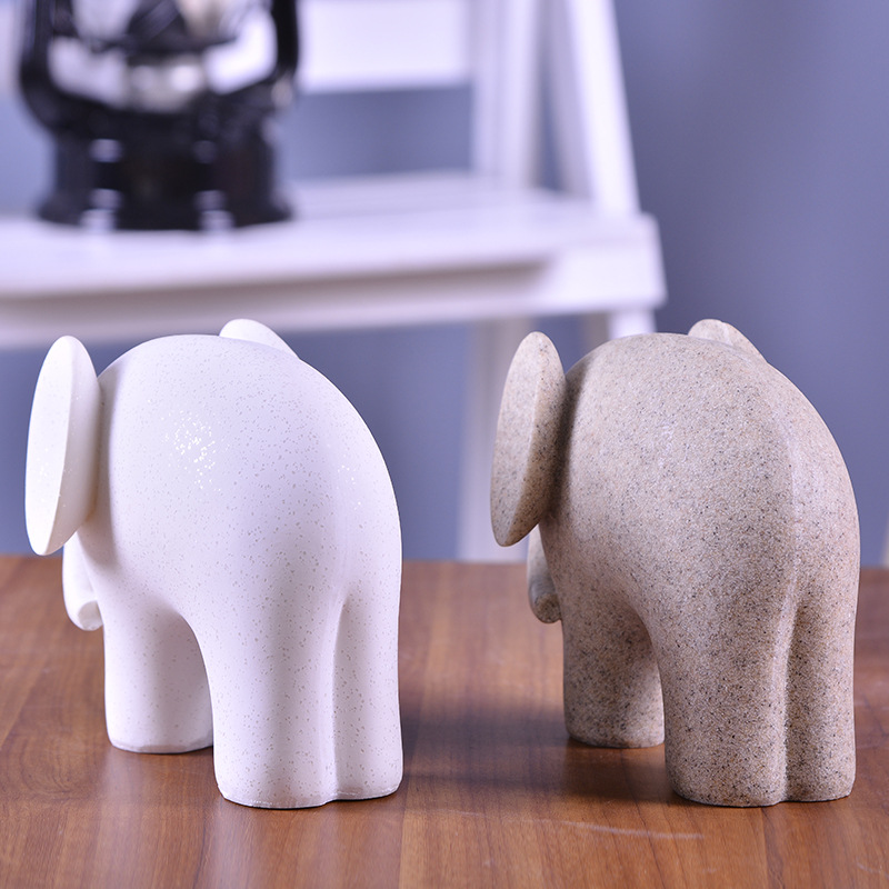 Elephant Figurines (4)