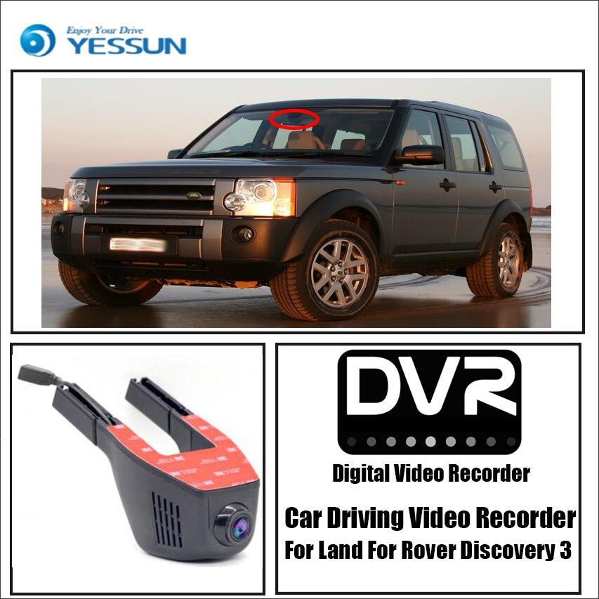 YESSUN pour Land Rover Découverte 3 Voiture Conduite Enregistreur Vidéo DVR Mini Contrôle APP Wifi Caméra 1080 p Registrator Dash cam