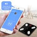 S4 Lichaamsvet Schaal Floor Wetenschappelijke Smart Elektronische LED Digitale Gewicht Badkamer Balans Bluetooth APP Android of IOS
