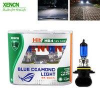 XENCN HB4 9006 12 V 51 Watt 5300 Karat Emark Blau Diamant Licht Xenon Halogen Auto Xenon Weißes Nebel EMARK DOT Lampe für ford mondeo