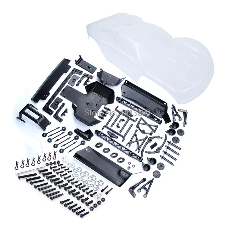 Conversion Kit A Transparent for baja 5T parts with free shipping