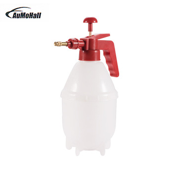 1.5L Car Washer Plastic Cleaning Can Watering Can Spray Pressure Sprayer Bottle cleaning tool for Auto / Home Size: 32*12CM car auto washer hand pressure pump sprayer bottle pressurized spray bottle glass cleaner cleaning gloves sprayer window washing